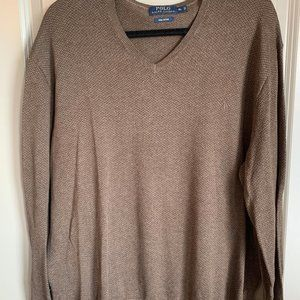 Men's Polo by Ralph Lauren V Neck Pullover Sweater